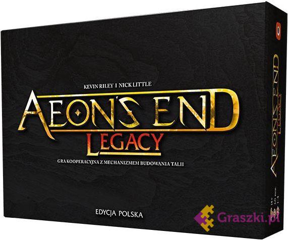 Aeon's End: Legacy (edycja polska) NADERWANA FOLIA
